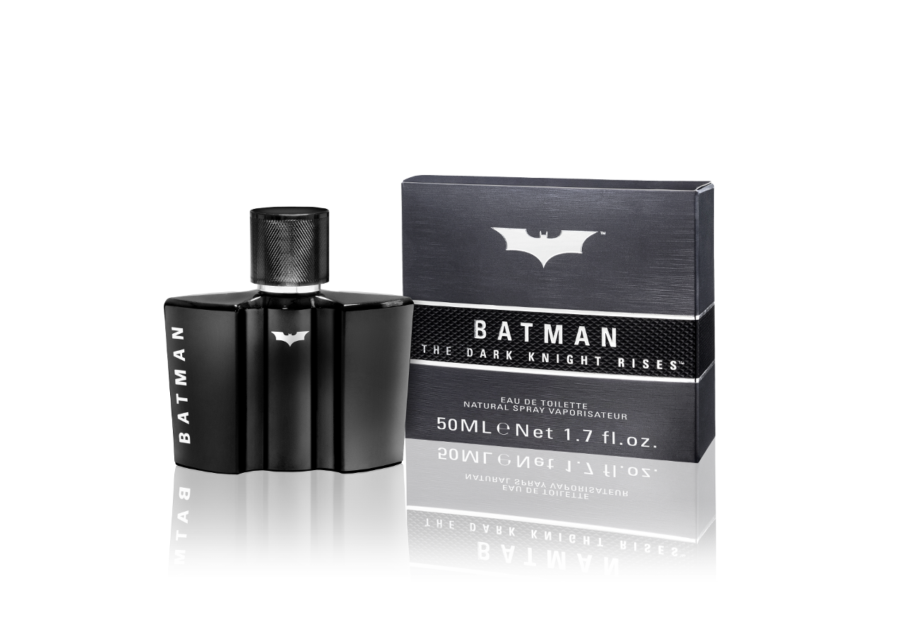 BATMAN 50ML TDKR EDT FLASCHE BOX 3D RGB